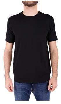 Trussardi Men's Black Cotton T-shirt.