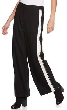 Apt. 9 Women's Tuxedo Stripe Wide-Leg Pants