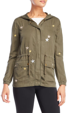 Bagatelle Embroidered Hooded Jacket