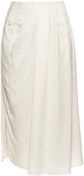 Balenciaga Multi-jacquard pleated skirt
