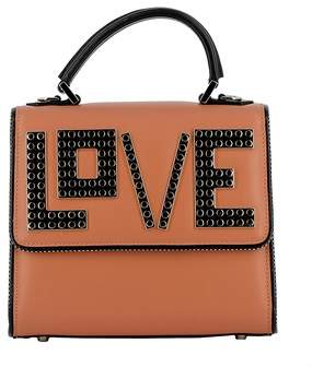 Les Petits Joueurs Women's Brown Leather Handbag.