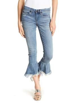 Blank NYC BLANKNYC Fancy That Frayed Ruffle Hem Jeans