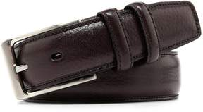 Roundtree & Yorke Big & Tall Heat-Creased Leather Belt