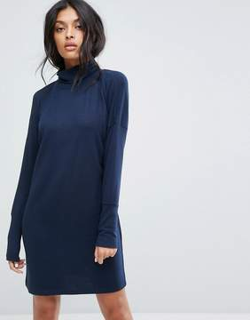 Noisy May Roll Neck Batwing Knitted Dress