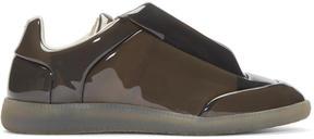 Maison Margiela Grey Transparent Future Low-Top Sneakers