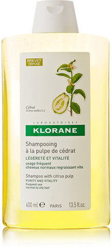 Klorane Shampoo With Citrus Pulp, 400ml - Colorless