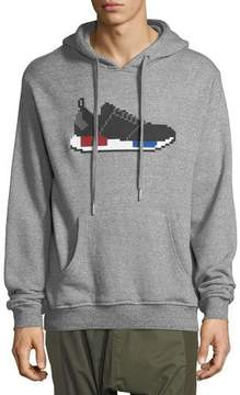 Mostly Heard Rarely Seen GRY SWEAT HOODIE W RUNNER
