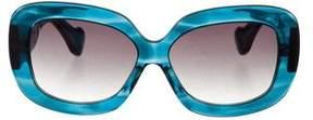 Dita Lyon Square Sunglasses