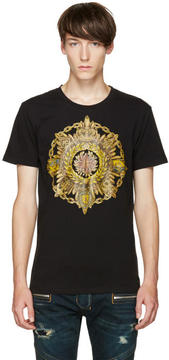 Balmain Black New B Logo T-Shirt