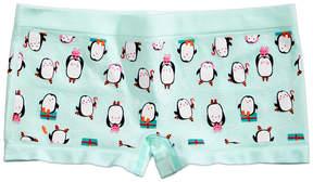 Maidenform Penguin-Print Minishort Underwear, Little Girls (4-6X) & Big Girls (7-16)