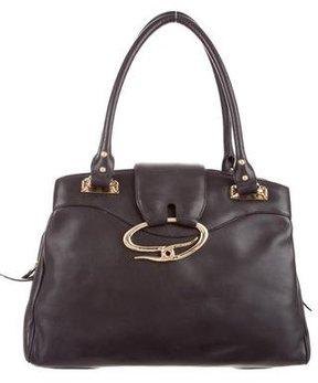 St. John Leather Shoulder Bag