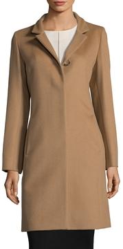 Cinzia Rocca Women's Wool Notch Coat