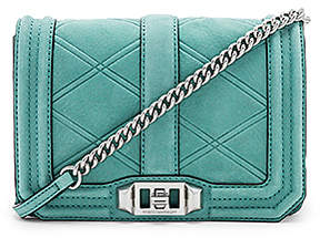 Rebecca Minkoff Small Love Crossbody Bag - DUSTY GREEN - STYLE