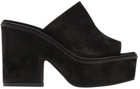 Janet & Janet 80mm Suede Mules