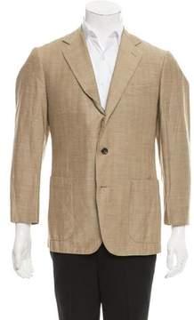 Luciano Barbera Wool & Linen-Blend Sport Coat