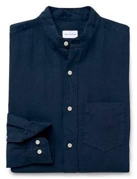 Gant Men's Blue Linen Shirt.