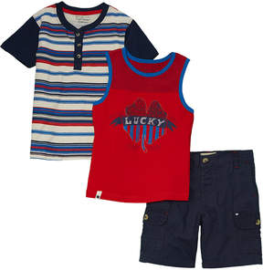 Lucky Brand Boys' 3Pc Set
