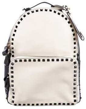 Valentino Bicolor Rockstud Backpack