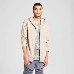 Jackson Men's Extended Full Zip Hoodie Sweatshirt Burnt Sand