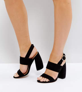 Asos HEALEY Wide Fit Heeled Sandals