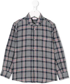 Il Gufo checked shirt