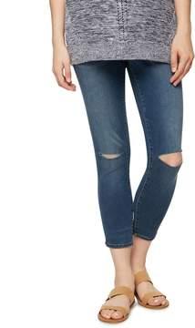 A Pea in the Pod Luxe Essentials Denim Secret Fit Belly Maternity Boyfriend Jeans