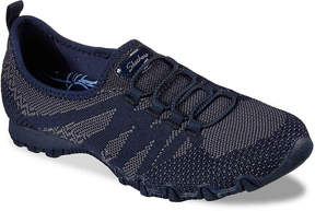 Skechers Women's Relaxed Fit Bikers Get With Knit Slip-On Sneaker