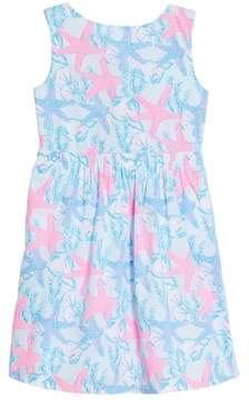 Vineyard Vines Sleeveless Print Dress