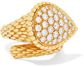 Serpent Bohème 18-karat Gold Diamond Ring