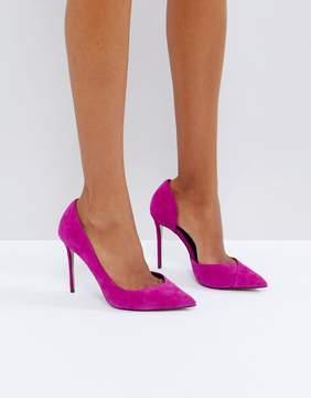 Carvela Apple Pink Suede Pumps
