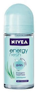 Nivea Energy Fresh Deodorant Roll On by 50ml Roll On)