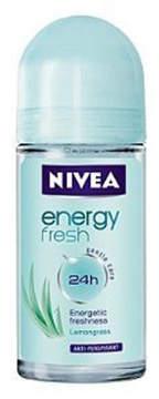 Nivea Energy Fresh Deodorant Roll On by 50ml Roll On)