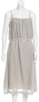 Chinti and Parker Polka Dot Print Midi Dress w/ Tags