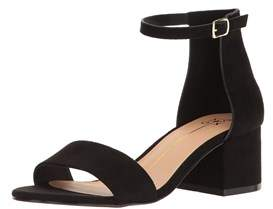 XOXO Womens Horatio Open Toe Casual Ankle Strap Sandals.