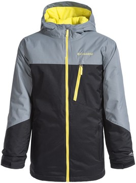 Columbia Double Grab Omni-Tech® Ski Jacket - Waterproof, Insulated (For Little and Big Boys)