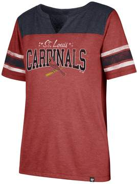 '47 Women's St. Louis Cardinals Match Tri-Blend Tee