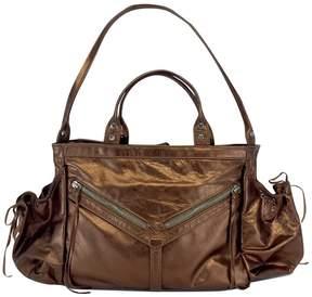 Botkier Bronze Leather Multi Zip & Pocket Bag