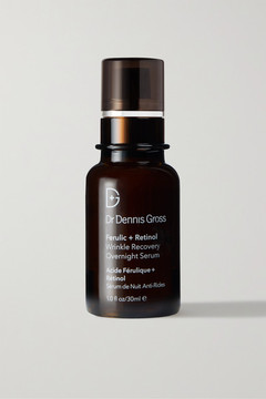 Dr. Dennis Gross Skincare Ferulic Retinol Wrinkle Recovery Overnight Serum, 30ml - Colorless