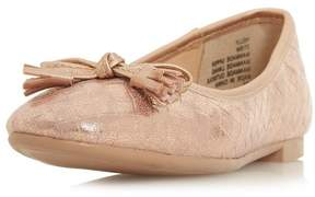 Head Over Heels *Head Over Heels by Dune Rose Gold 'Helly' Loafers