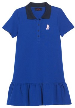 Juicy Couture Girl's Pique Polo Dress
