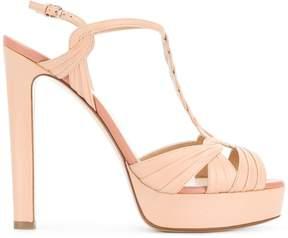 Francesco Russo Hill platform sandals