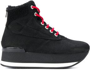 Hogan platform hi-top boots
