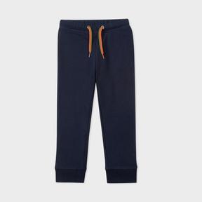 Paul Smith Boys' 2-6 Years Navy Zebra-Logo Cotton Sweatpants