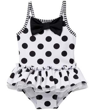 Little Me Black and White Swimsuit (Baby Girls)