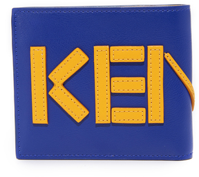 Kenzo Leather Billfold Wallet