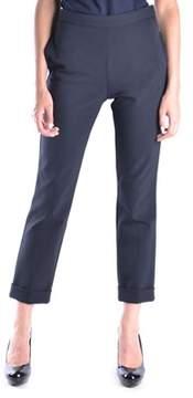 Dirk Bikkembergs Women's Black Polyamide Pants.