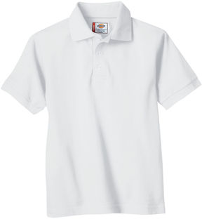Dickies Boys Short Sleeve Pique Polo- Preschool