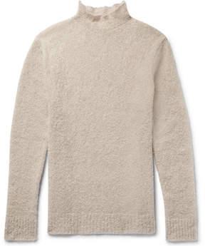 Simon Miller Oversized Mohair And Silk-Blend Bouclé Rollneck Sweater