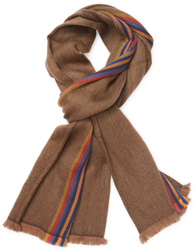 Missoni Men's Multicolored Wool Long Scarf