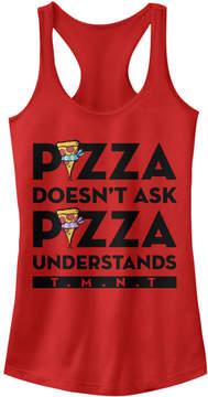 Fifth Sun Red TMNT 'Pizza Understands' Racerback Tank - Juniors